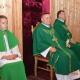 Przywitanie ks .Adama Turlińskigo w parafii pw. Św. Krzysztofa
