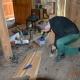 Naprawa podłogi w Kaplicy
