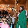 Poświęcenie różanców dzieciom  przygotowujących się do I Komunii Świętej