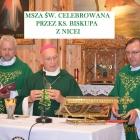 Msza św. celebrowana przez Ks. Biskupa z Nicei