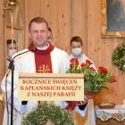 Rocznice święceń kapłańskich księży z naszej parafii